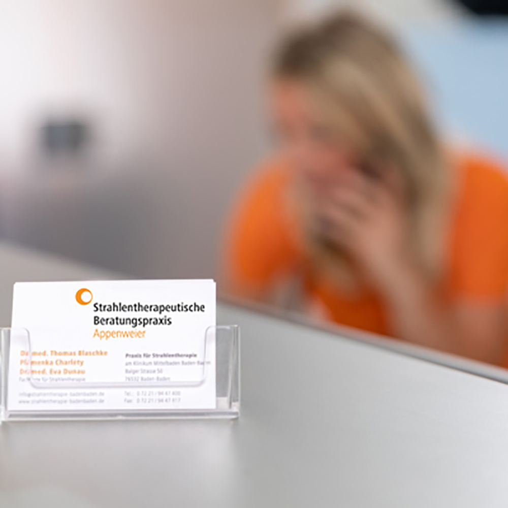 Empfangsbereich - Strahlentherapie Appenweier